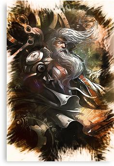 League of Legends ZILEAN by Naumovski