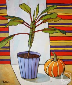 Art Floral, Russian Folk Art, Perspective Art, Guache, Plant Illustration, Still Life Art, Art Classroom, Watercolor Flowers, Painting Inspiration