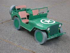Jeep Paper Craft