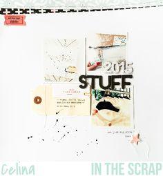 In The Scrap: Reto Febrero: Letras y números