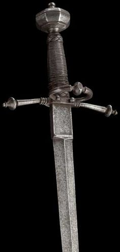 A German left-hand dagger end of the 16th century.