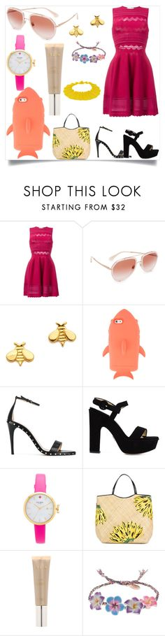 """POLYVORE STYLISH DESIGN"" by justinallison on Polyvore featuring Zuhair Murad, Dolce&Gabbana, Gorjana, STELLA McCARTNEY, Valentino, Paul Andrew, Kate Spade, Aranáz, Stila and Venessa Arizaga"