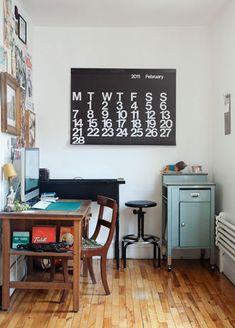 Home of Raymond Biesinger & Elizabeth Hudson on Design*Sponge