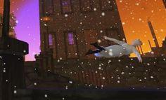 A Christmas Carol Machinima Film ( http://www.youtube.com/watch?v=S9SBebs3A5I )