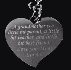 A personal favorite from my Etsy shop https://www.etsy.com/listing/482431717/grandmother-necklace-grandparent-gift