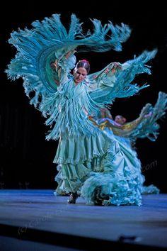Alegrias performed by Ballet Flamenco de Andalusia at Sadler's Wells Flamenco Festival. (c) Carole Edrich 2013