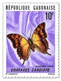 A Lepidopterist's Delight in West Africa: Butterfly and Moth Stamps of Gabon West Africa, Butterflies, Stamps, Seals, Butterfly, Postage Stamps, Stamp