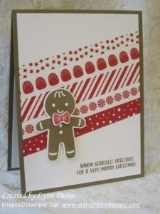 I thought I would post a little holiday project today to give you a sneak peek of one of products from the new Stampin' Up! holiday catalog which comes o… Stamped Christmas Cards, Christmas Card Crafts, Xmas Cards, Holiday Cards, Christmas 2016, Winter Holiday, Christmas Projects, Handmade Christmas, Greeting Cards