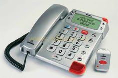Telefono con teclas grandes y mando Brondi