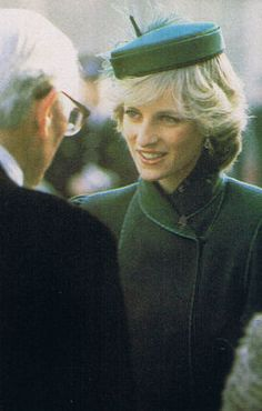 February 4, 1983: Princess Diana's visit to Royal Hospital for Sick Chilren in Bristol where she opened a new Intensive Care Unit.