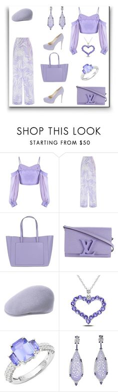 """""""C.B.G"""" by exoduss ❤ liked on Polyvore featuring Michael Kors, Coccinelle, Louis Vuitton, kangol, Miadora, Effy Jewelry and Brian Atwood"""