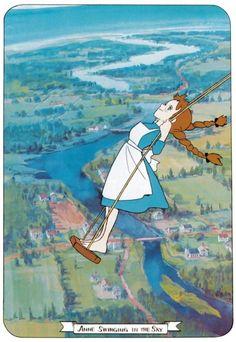 Anne of Green Gables - Isao Takahata - 1979 Manga Girl, Anime Art Girl, Old Anime, Anime Manga, Anne Auf Green Gables, Anne With An E, Studio Ghibli Art, Anime Scenery Wallpaper, Anne Shirley