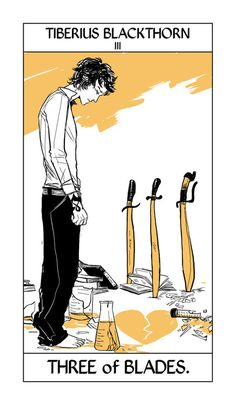 Tarot Cards by Cassandra Jean, Tiberius Blackthorn