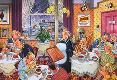 Live Entertainment- 1000 piece Wasgij Mystery jigsaw puzzle from Jumbo. Puzzle measures 26.8