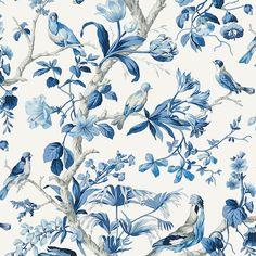 Scalamandre Belize Porcelain Wallpaper  40% Off   Samples