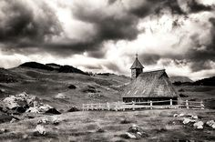 Wooden Church in Velika planina by AlesNanut
