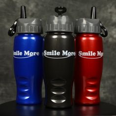 Smile More 27oz. Water Bottle – The Smile More Store