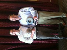Wow--thank you to the Downers Grove Area Chamber of Commerce & Industry. We are honored to accept both the 2013 Chamber Choice Award Retail Category and the Overall Business Excellence Award!    Joe and Jim Wannemaker at the Downers Grove Chamber of Commerce event on 2/13/13.