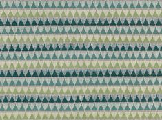 A textured chenille weave with tessellating triangles and linear details in multi coloured combinations. This simple design is a contemporary twist on a traditional folk pattern. Chenille Weave Upholstery Fabrics, Prints, Drapes & Wallcoverings