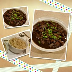 Beef pares & garlic fried rice