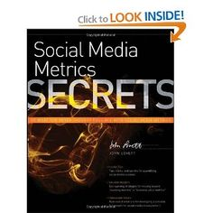 John's book on how Social Media Metrics work and how business has to learn to handle big data