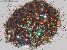 "Solvent Resistant Glitter ""Kaleidoscope"" Hex .020"
