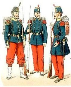 Franco-Prussian War French soldiers
