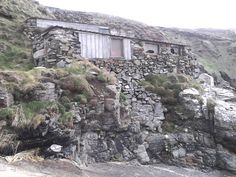 Fishermen's sheds, priest's cover, cape cornwall