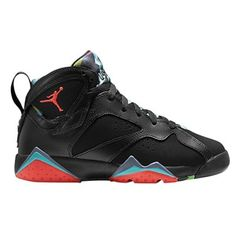 lowest price 0c879 adfcf Jordan Retro 7 - Boys  Grade School - Black Blue Graphite Retro Infrared 23