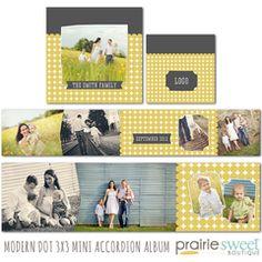 Modern Dot 3x3 Accordion Album