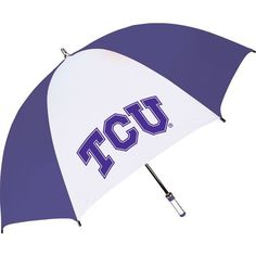 Storm Duds Adults' Texas Christian University The Birdie Sporty Golf Umbrella (Purple, Size ) - NCAA Licensed Product, NCAA Accessories at Academy ... #golfumbrella
