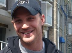 "Tom Hardy - love his ""long"" hair in this pic"