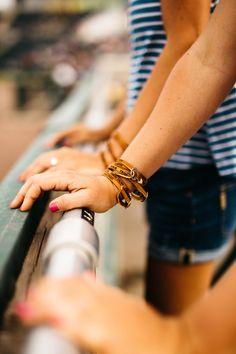 Personalized baseball glove lace bracelet