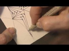 Zentangle...DIY from Rick Roberts and Maria Thomas, creators of Zentangle...great video for beginners---This is my second video pin...y'all have to try it...it's so easy...check out the Pinterest Blog for details. But, basically, go to You Tube and pin it...that simple.