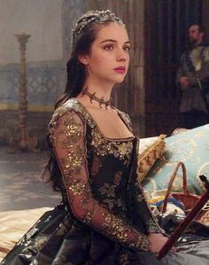 Reign (Adelaide Kane as Mary Queen of Scots) Reign Mary, Mary Queen Of Scots, Queen Mary, Reign Dresses, Royal Dresses, Adelaide Kane, Marie Stuart, Reign Tv Show, Reign Fashion