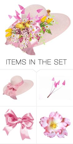 """""""Chick Chicka Boom Bonnet"""" by lois-boyce-flack ❤ liked on Polyvore featuring art"""