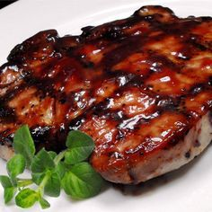 """Grilled Pork Loin Chops I """"This is the best recipe for Grilled Chops that I have ever tried. Wow! They are so moist and so full of flavor."""""""