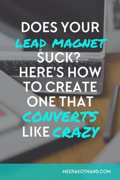 Your lead magnet can make or break your site.Use the checklist to find out exactly what lead magnet to create for your audience and if yours fits the bill. Email Marketing Strategy, E-mail Marketing, Content Marketing, Internet Marketing, Online Marketing, Marketing Ideas, Business Marketing, Digital Marketing, Business Tips