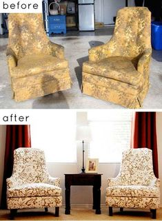 Decor Hacks :     DIY Decorating, Budget Decorating Ideas, Cheap Home Decor – I wonder if I could do something like this to the ugly rocking chair in the living room…    -Read More –   - #Hacks https://decorobject.com/hacks/decor-hacks-diy-decorating-budget-decorating-ideas-cheap-home-decor-i-wonder-if-i-could/