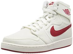 reputable site b72fc a16aa Nike Jordan Men s AJ1 KO High OG Sail Varsity Red Basketb.