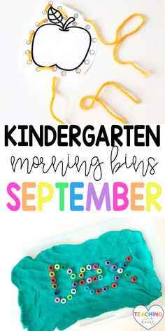Are your mornings chaotic? Are you looking for engaging activities that your students can explore independently? By using Kindergarten September morning tubs, your students will be problem solving, working together, and thinking creatively. These September morning tubs are also open ended so your students will have a different experience each time they choose one! Come transform your mornings from chaos to calm! Primary Education, Primary Classroom, Kindergarten Teachers, Elementary Education, Classroom Activities, Learning Activities, Teaching Ideas, Classroom Ideas, Whole Brain Teaching