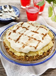 Lchf, No Bake Cake, Cake Recipes, Bakery, Food And Drink, Health Fitness, Cooking Recipes, Cookies, Breakfast