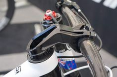 Leonardi Prototype Inverse Stem for Lefty/Headshock, Cannondale SiSL Chainring Adapter & More! Bicycle Garage, Bicycle Parts, Cannondale Bikes, Mountian Bike, Bike Components, Car Wheels, Bike Design, Cool Guitar, Cycling Bikes
