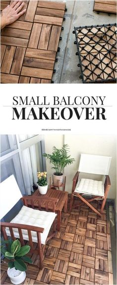 Balcony Makeover Better late than never! Remember a while back I promised to share my Small Balcony Makeover?Small Balcony Makeover Better late than never! Remember a while back I promised to share my Small Balcony Makeover? Balcony Flooring, Diy Flooring, Basement Flooring, Ikea Outdoor Flooring, Inexpensive Flooring, Cheap Flooring Ideas, Sweet Home, Apartment Balconies, Condo Balcony