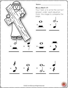 Christmas Piano Worksheet to help kids learn finger