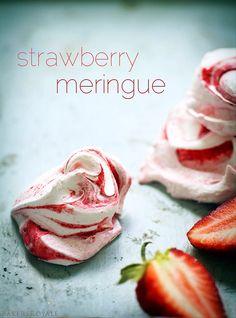 Strawberry Meringue | BakersRoyale