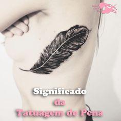 O significa da tatuagem de pena, pode te surpreender. Conhecer o significado desse lindo modelo de tatuagem pode lhe inspirar a faze-la.