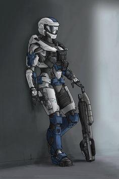 Spartan Jesse 2 (Commission) by The-Chronothaur