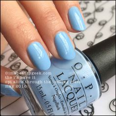 OPI The I's Have it – OPI Alice Through the Looking Glass 2016