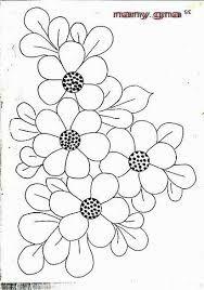 Ideas For Embroidery Bordado Puntos Hand Work Embroidery, Hand Embroidery Patterns, Applique Patterns, Mosaic Patterns, Beaded Embroidery, Flower Patterns, Embroidery Stitches, Machine Embroidery, Quilled Creations